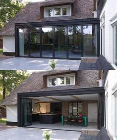 Kitchen Soffit Decorating Ideas is entirely important for your home. Whether you choose the Kitchen Wall Decor Ideas or Decorating Ideas For Kitchen Walls, you will create the best Color Ideas For Kit Extension Veranda, House Extension Design, House Design, Metal Building Homes, Building A House, Kitchen Soffit, Kitchen Walls, Backyard Patio Designs, Landscaping Design