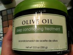 Olive Oil Deep Conditioner