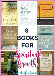 5 Books for Spiritual Growth – YWGtv Episode 10 - Trend Book Buddies 2019 Book Club Books, Good Books, Books To Read, Reading Lists, Book Lists, Religious Books, Catholic Books, Bible Study Tips, Spiritual Growth