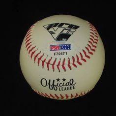ROMAN COLON HAND SIGNED OFFICIAL LEAGUE BASEBALL~PSA~ . $25.00. RELIEF PITCHER, ROMAN COLON, HAND SIGNED OFFICIAL LEAGUE BASEBALL.   . AUTOGRAPH AUTHENTICATED BY PSA/DNA WITH NUMBERED PSA/DNA AUTHENTICATION STICKER ON ITEM AND MATCHING NUMBERED PSA/DNA CERTIFICATE OF AUTHENTICITY (COA) INCLUDED. PSA/DNA COA:  #F 70671 ITEM PICTURED IS ACTUAL ITEM RECEIVED.  ITEM IS SOLD AS IS, NO REFUNDS AND NO EXCHANGES.