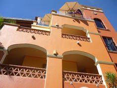 Girasoles building... at the top, Girasoles Restaurant