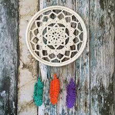Resultado de imagen para Crochet dreamcatcher