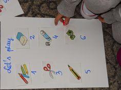 Gra obrazkowa z kostkami. ~ Zamiast kserówki. Edukacyjne gry i zabawy dla dzieci.
