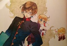 The Royal Tutor by  Higasa Akai. Fanart drawn by Jun Mochizuki