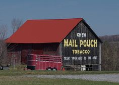 Mail Pouch Barn -- Cambria County, Pennsylvania (#4) by Harry Hunt, via Flickr