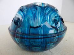 Davidson Antique Cloud Glass Vase Complete With Frog We Take Customers As Our Gods Pottery, Porcelain & Glass Art Glass