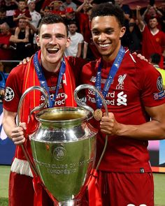 This pair. 👌🔴 #LFC #Trent #Robbo #UCL #LiverpoolFC
