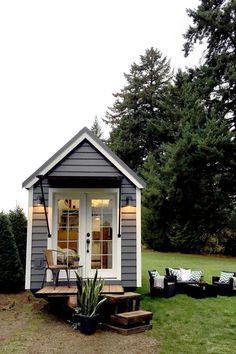 Northwest Haven • Tiny Heirloom Luxury Custom Built Tiny Homes