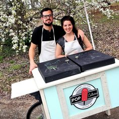 Craig and Lori Kinsley have launched Pop Culture Pops, a mobile business selling homemade frozen treats using only the freshest ingredients.
