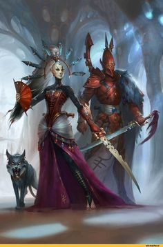 Yvraine,Ynnari,Warhammer 40000,warhammer40000, warhammer40k, warhammer 40k, ваха, сорокотысячник,фэндомы,Visarch