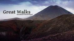 """Die sogenannten neun Great Walks wurden von Neuseelands Naturschutzbund (DOC - Department of Conservation) als """"beste Wanderwege"""" ausgezeichnet. Die meisten dieser ausgewählten Wanderwege sind in drei bis fünf Tagen gut zu bezwingen. Du kannst sie jedoch auch"""