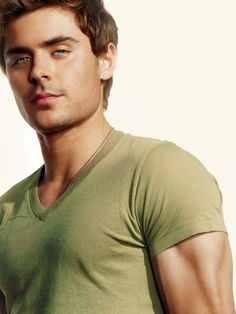Zac Efron- can't get over those blue eyes....