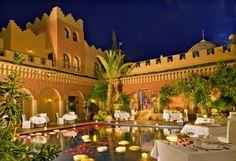 Richard Branson's Kasbah Tamadot hotel in Morocco