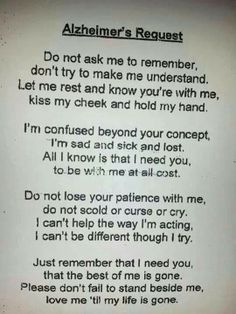 A reminder of patience and love..... In memory of My Grandma...I love you Grandma! Dusty