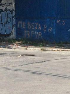 Nada como a verdade estampada no muro.