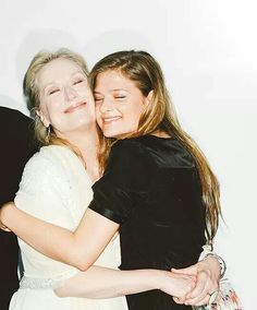 Mommy Meryl with Louisa