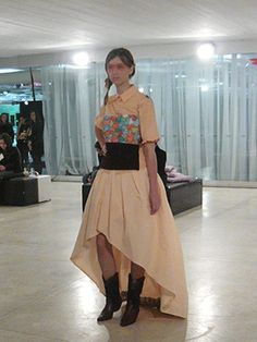 Minha Criação p/ Semana de Moda de Curitiba - LAB Moda | Dia 02 - 1/2 | Manu Luize