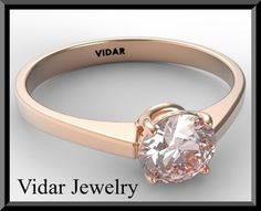 Engagement RingPink Morganite Engagement by Vidarjewelry on Etsy, $990.00 This wouold be very appropriate (Morganite <3)