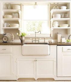 White Kitchen Farmhouse Sink 1930s kohler cast iron farmhouse sink, (42 x 20) 8 inch back