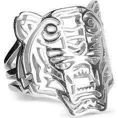 KENZO Tiger ring (Silver