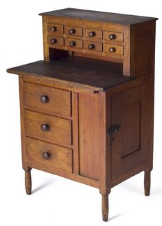 Shaker child's sewing desk, Canterbury, New Hampshire
