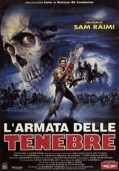 L'armata delle tenebre, scheda del film diretto da Sam Raimi, leggi la trama e la recensione, scrivi un tuo commento sul film