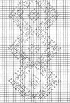Home Decor Crochet Patterns Part 137 - Beautiful Crochet Patterns and Knitting Patterns Crochet Doily Diagram, Filet Crochet Charts, Crochet Cross, Crochet Motif, Crochet Doilies, Hand Crochet, Crochet Stitches, Diy Crafts Crochet, Crochet Home