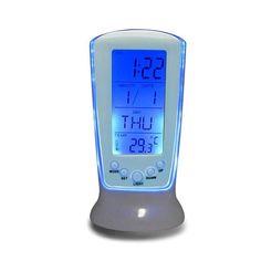 LED Digital Alarm Clock Backlight Music Calendar Thermometer Clock Desktop Clock