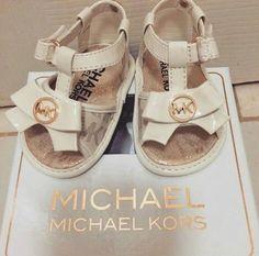 So cute #michaelkorsbaby  #babyshoes #babysandals