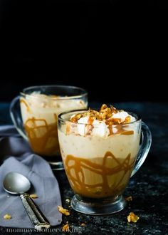 Caramel Coffee Float - Mommy's Home Cooking
