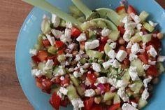 Salade pois chiche - feta - 6pp