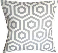 Welcome to my store  You are looking at: 1 x 16 cushion cover  Backing: Ivory plain envelope style  Material: Thick cotton : Chevron  All covers are overlocked and double stitched  Please visit my shop for other listings x