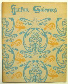 1970 HECTOR GUIMARD Design ART NOUVEAU