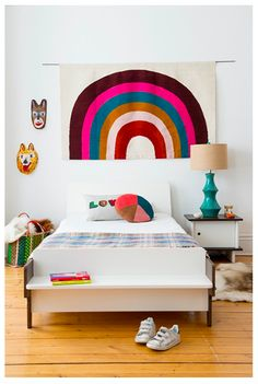 Oeuf Rainbow Rug for