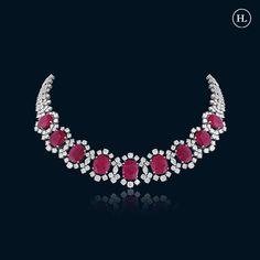 Real Diamond Necklace, Diamond Pendant Necklace, Diamond Jewellery, Trendy Jewelry, Jewelry Sets, Jewelry Necklaces, Hazoorilal Jewellers, Best Diamond, Gold Art