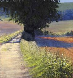 Farm Track at Little Heaven, late summer morning Andrew Gifford