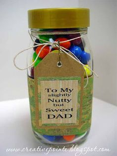 Gift tag and upcycled container