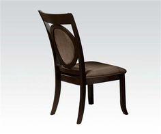 2 Vienna Dark Cherry Wood Side Chairs