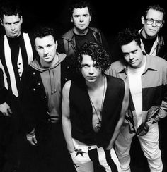 INXS.  Dang, that Michael Hutchence was unbelievably sexy.