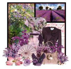 Purple Rush by garbowvu on Polyvore featuring polyvore мода style Dorothy Perkins GF Ferré rsvp Bulgari Nearly Natural fashion clothing