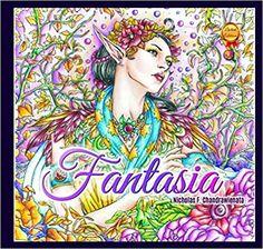 Amazon.com: Fantasia Adult Coloring Book - Second Edition (9780997480795): Nicholas F. Chandrawienata, Phoenix Amulet: Books