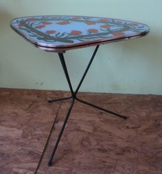 Sixties table by Veryodd on Etsy, $69.50