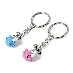 I need this with my best friend. We have a BFF key chain that is like this but with seals instead of narwhals.