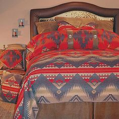 Save - on all Western Bedding and Comforter Sets at Lone Star Western Decor. Your source for discount pricing on cowboy bed sets and rustic comforters. Southwestern Bedding, Southwest Decor, Southwest Style, Southwest Bedroom, Southwestern Decorating, Rustic Comforter, Comforter Sets, Western Style, Native American Decor