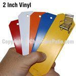 precut replacement vinyl strap for outdoor pool and patio furniture
