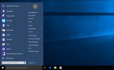 http://www.howtogeek.com/223728/bring-the-windows-7-start-menu-to-windows-10-with-classic-shell/