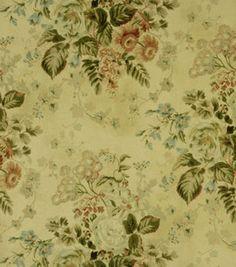 """Covington Print Fabric 54""""-Laurel Vinatge Linen"""