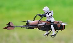 """Okay, this is the last quadcopter-to-""""Star Wars Universe""""-thing we (or at least I) will post*, I promise. BUT SERIOUSLY, LOOK AT THIS THING. It is.."""
