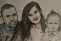 Nakreslím portrét podľa predlohy - rozmer A4 - Jaspravim.sk