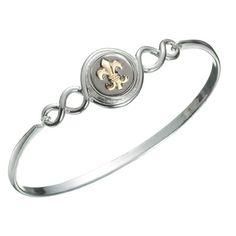 Kameleon Sterling Silver Small Weaver Bangle Bracelet
